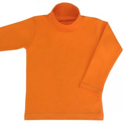 Водолазка оранжевая