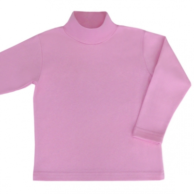 Водолазка розовая